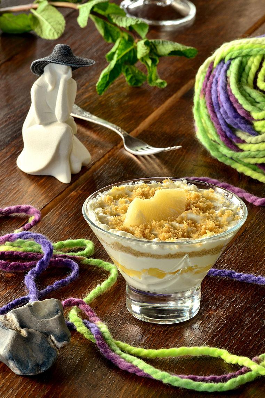Десерт из Сыра Филадельфия и Сливок
