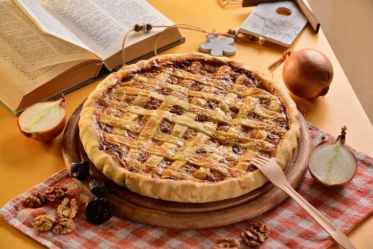 Пиріг з Індичкою та Чорносливом
