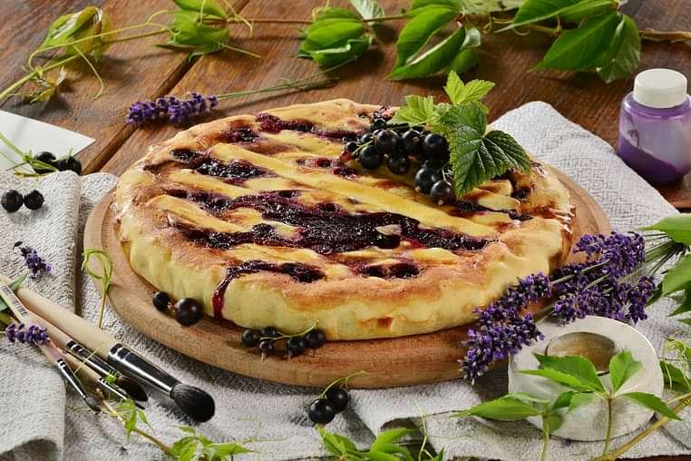 Пиріг Ягідний